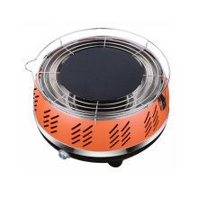 Portable Smokeless Charcoal Grill Barbecue with Carry Bag