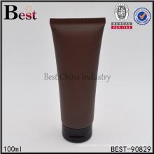 цвет кофе мягкая трубка косметической 100мл