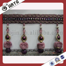 ball fringe and frings for curtain decoration