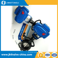 GB standard high quality urban construction save space double flanged butterfly valve