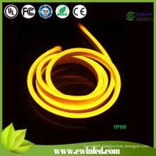 220V DIP Yellow Neon Flex Light with Miky White PVC