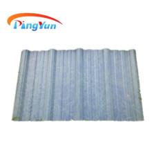 feuille de toit translucide en pvc transparent