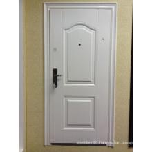 50mm 70mm Security Steel Door KKD-301 in White Color