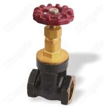 Straight-through Brass Thread Gate Valve