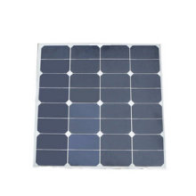EXW Price 50W Semi Flexible Solar Panel for Marine, Roof Solar System