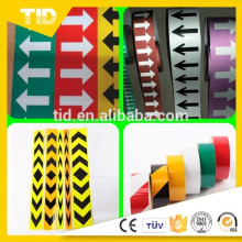PET Double Color Advertisement Grade Reflective Sheeting For Road Plate