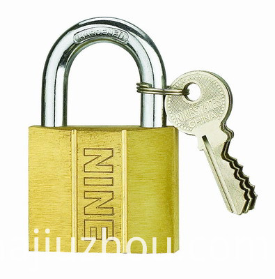 Dent Type Brass Padlock Short and Long Shackle