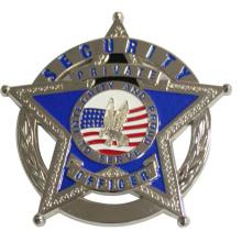 Fünf-Sterne-Polizei-Abzeichen