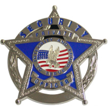 Five Star Police Badge