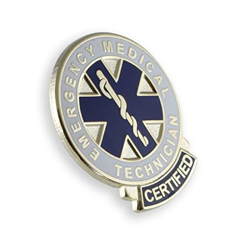 Certified Metal Lapel Pins