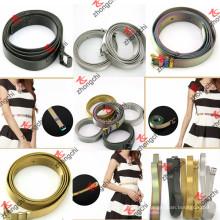 Bunte / Gold / Gun Metall Edelstahl Gürtel für Lady Dress Dekoration (SB1-5)