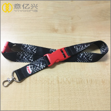 custom printed polyester neck lanyards for teenagers