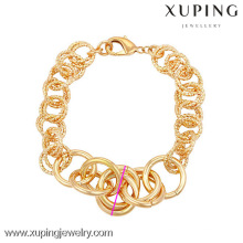73950 Xuping Fashion Woman Bracelet with 18K gold color