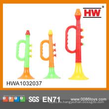 Juguete plástico barato de la trompeta de Piccolo de la alta calidad (3pcs)
