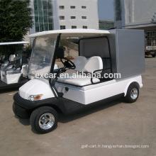2 places 4 roues elctric golf cart à vendre avec des prix pas cher