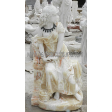 Escultura de mármore pedra escultura estátua para decoração de jardim (SY-C1278)