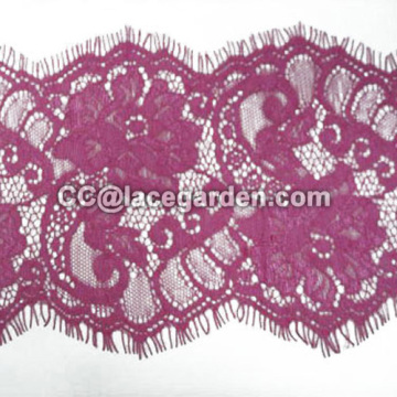 Eyelash Lace in Red Color