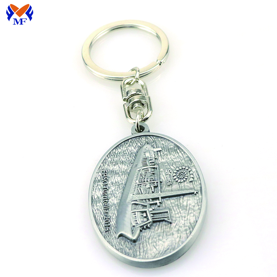 Keyring Metal Custom Logo