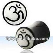 Wholesaleear medidor orelha plug túnel piercing jóias