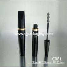 Arabic Material Tubo Cosméticos Embalagens coffe mascara tubos jovem preto mascara tubo