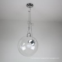 Fancy modern dining lights indoor glass led hanging pendant lights