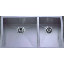 Handmade Stainless Steel Kitchen Sink (KHD2920B)