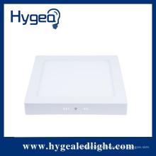 12W vendas quentes 90-120lm / w levou luz do painel com superfície montada