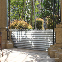 Balcony patio wind/sun shield shade/balcony protection net