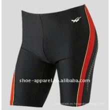 Traje de baño calificado de la marca 2014 de la fábrica para los hombres, nadador de la nadada, pantalones cortos de la nadada