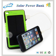Outdoor Travel Waterproof Mobile Phone Solar Charger Power Bank 8000mAh