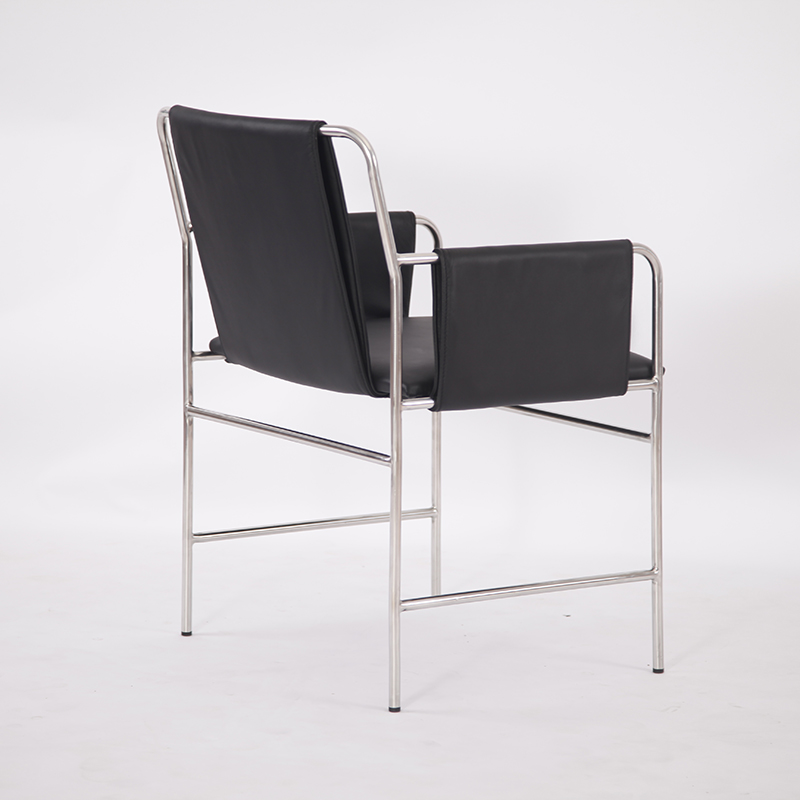 Modern envelope chair
