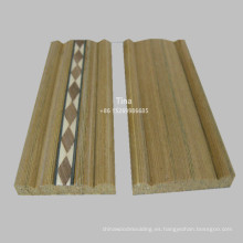 Moldeado de marco de puerta moldeado moldeado de madera