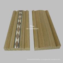 Дверная рама из модифицированного дерева