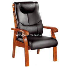 Wooden Frame Leather Office Conference Chair for USA (FOH-F12)