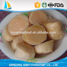 Die gesundste Meeresfrüchte der Welt gefrorene ungekochte Jakobsmuschel
