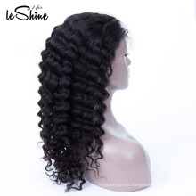 Own Factory Water Wave Lace Wig Long Soft Peruvian Hair