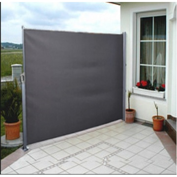 Retractable Side Toldo Patio cubierta gris sombrilla 300 * 200cm