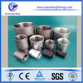 En10241 Carbon Steel Threaded Pipe Coupling