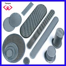 Filtro de malla de filtro sinterizado Ss 316/304