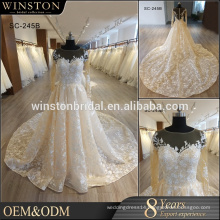 New arrival product wholesale Beautiful Fashion alibaba wedding dress
