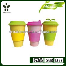 2014 tasse à café en fibre de bambou à chaud