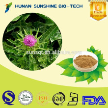 Agrandamiento del pene 100% natural Herbal Extract silybum / silymarin milk thistle pe powder con Protect Liver function