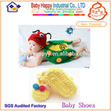 Best-selling New Style crochet suit for baby shoes sets