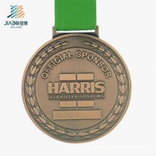 Custom Metal Crafts Alloy Bronze Harris Powerlifting Sports Medal