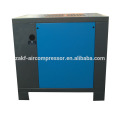 Mini 12L oil lubricant screw air compressor with beit driven