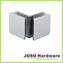 Support de verre carré de verre à verre de 90 degrés en verre (BC102-90)