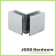 90 Degree Glass to Glass Shower Door Square Glass Bracket (BC102-90)