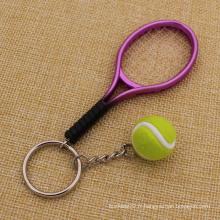 Cadeau de mode Badminton Keychain avec prix bon marché (KQ-22)
