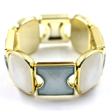Antique Style Energy Wrap Matel with Crystal Bangle