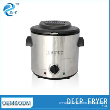 House Hold Stainless Steel Mini Electric Deep Fryer---1.5L